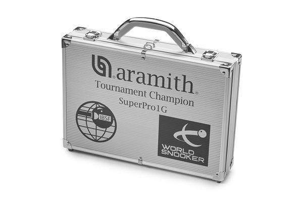 ARAMITH SUPERPRO 1G SET WORLD CHAMPIONSHIP SNOOKER TABLE BALLS IN